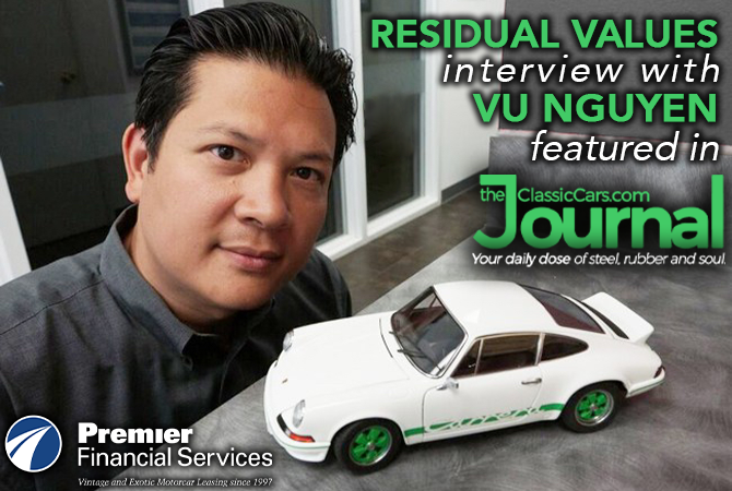 Interview of Porsche Club of America's Vu Nguyen Premier Financial Services Exotic Car Leasing