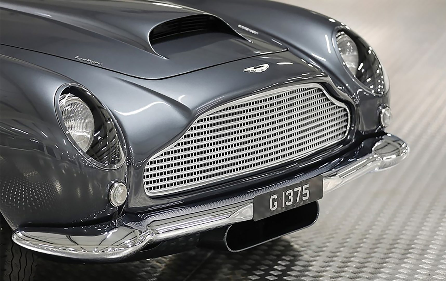 Silver 1961 Aston Martin DB4GT Front Grille, Aston Martin Financing, #pfs_leasing