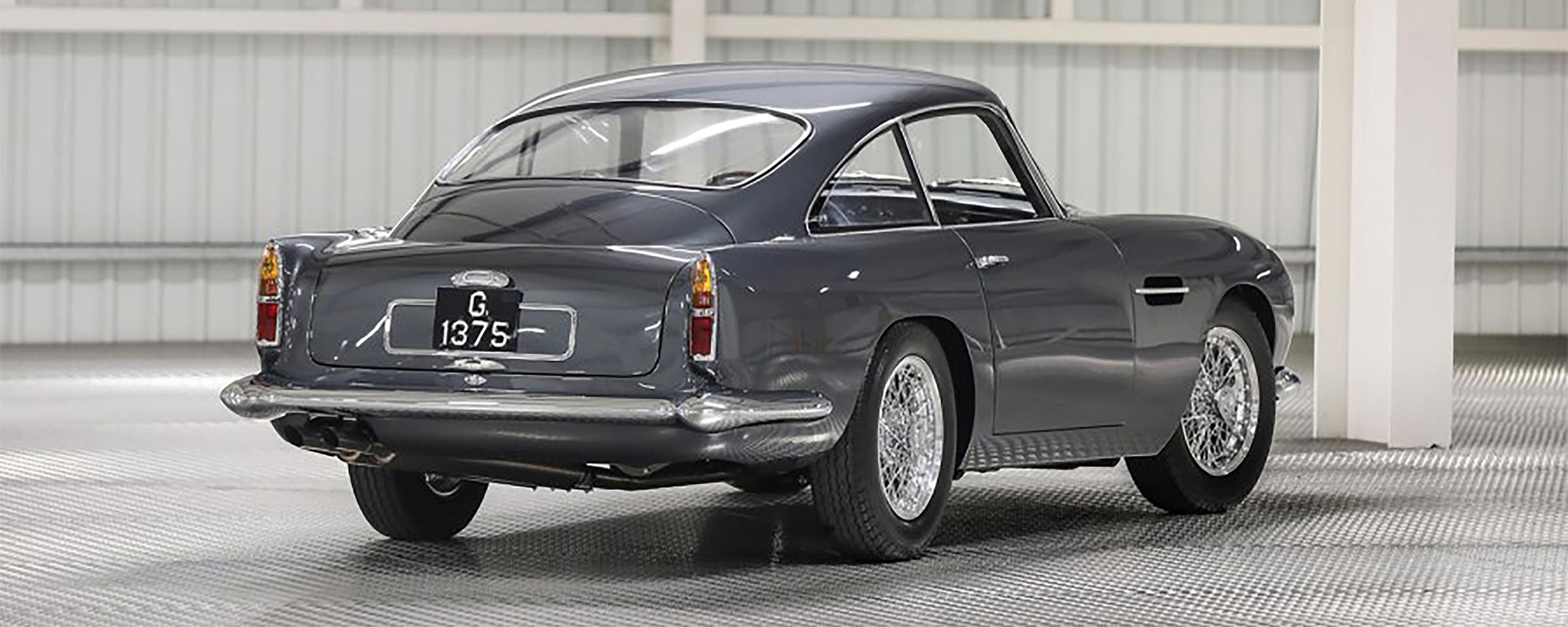 Silver 1961 Aston Martin DB4GT Rear Fenders, Lease an Aston Martin, #pfs_leasing
