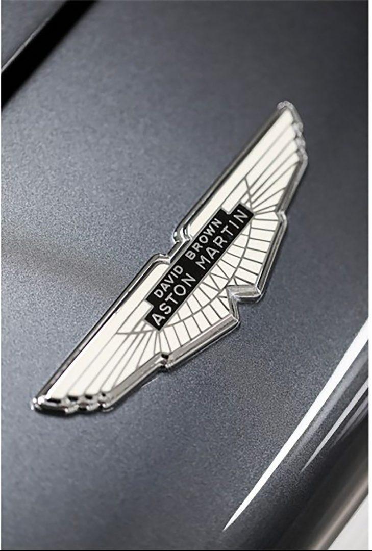 Silver 1961 Aston Martin DB4GT Hood Badge, Aston Martin Financing, #pfs_leasing