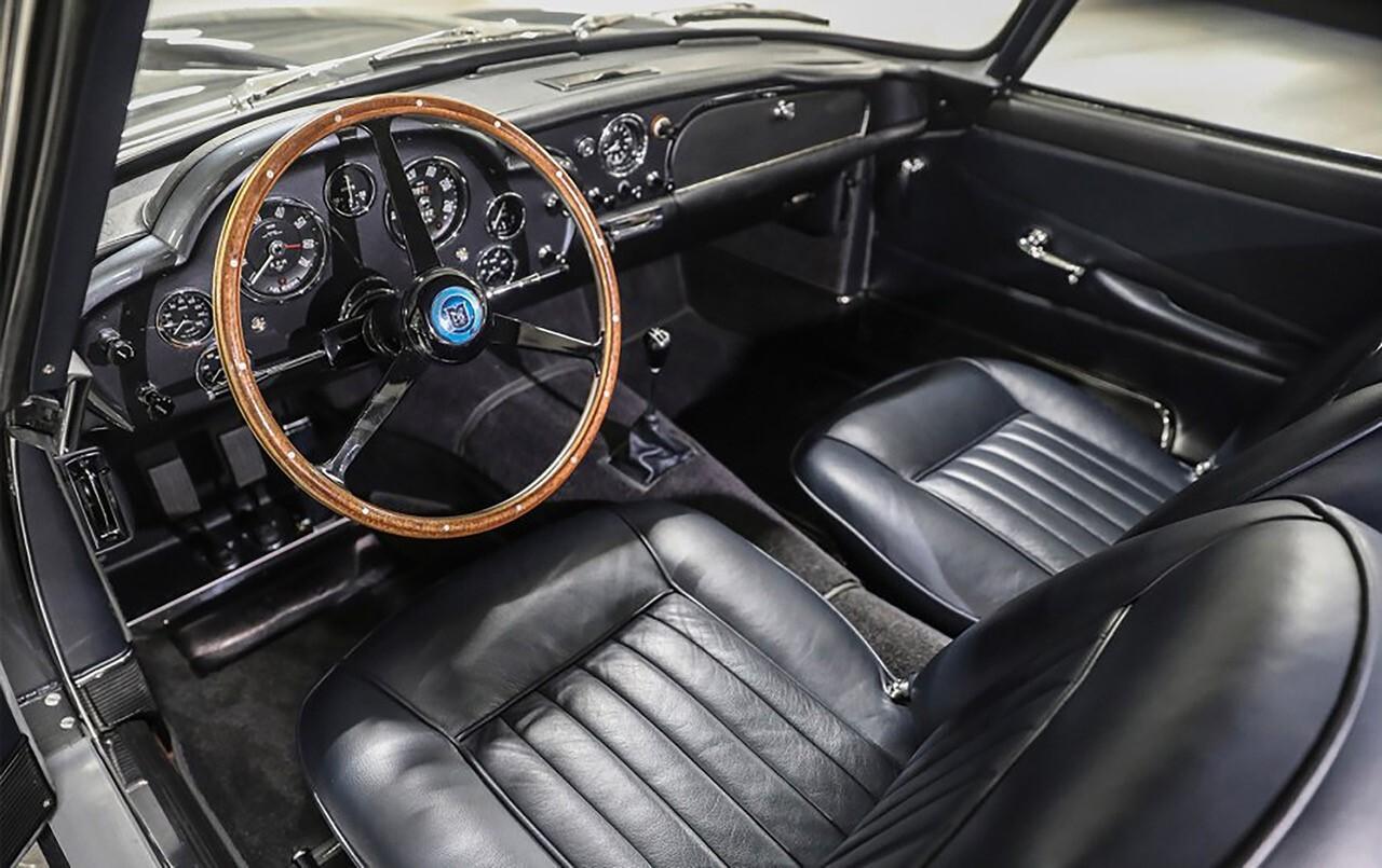 Silver 1961 Aston Martin DB4GT Black Leather Interior, Aston Martin Financing, #pfs_leasing