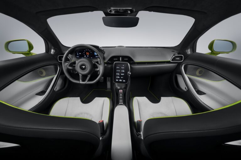 2022 McLaren Artura interior. McLaren financing with #pfs_leasing