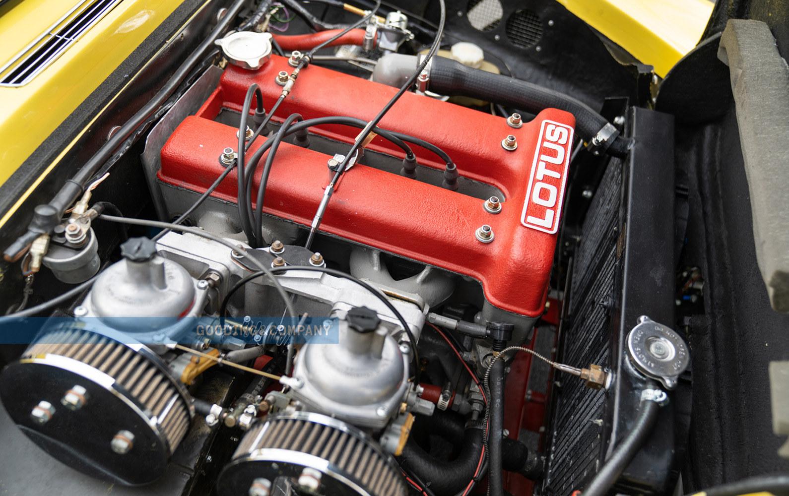 1969 Lotus Elan SE-Engine, Red engne block, Lotus Leasing