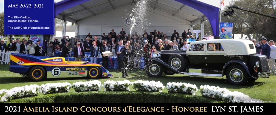 Amelia Island Concours Winners - Awards Ceremony, Pre-war and Race Car on Grass
