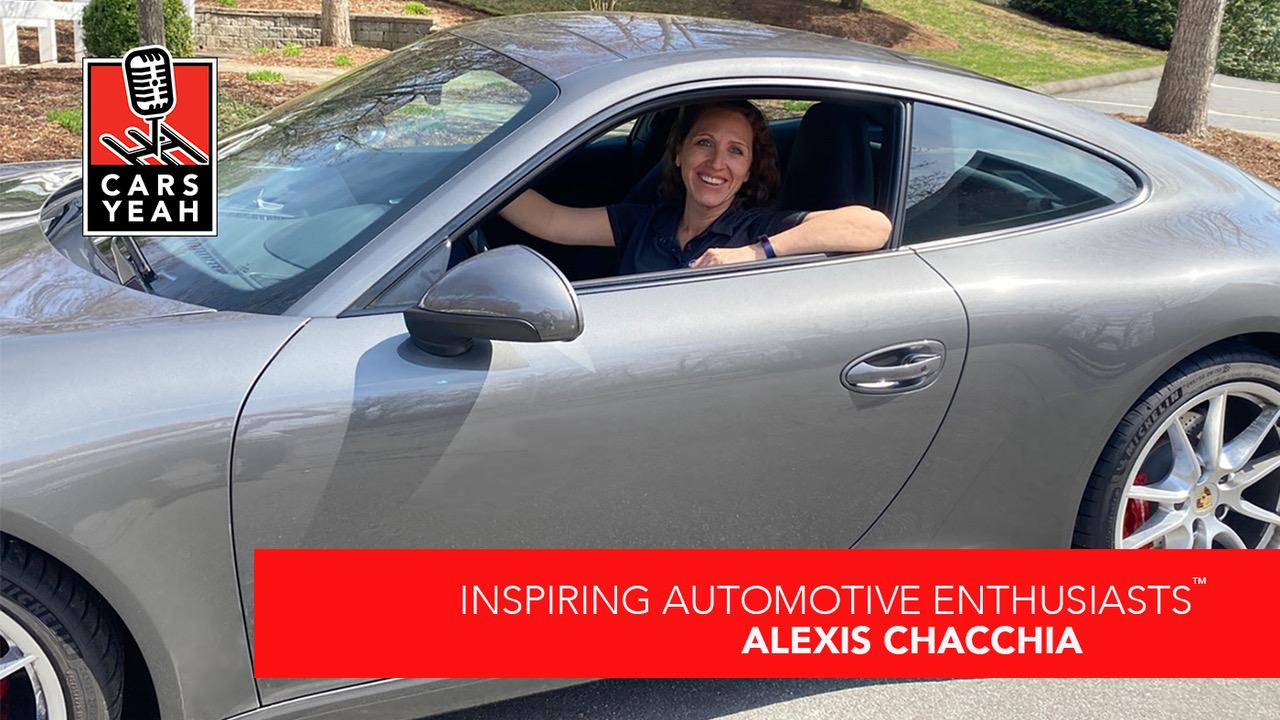 Alexis Chacchia In Doug Ewing's Porsche- Cars Yeah Podcast