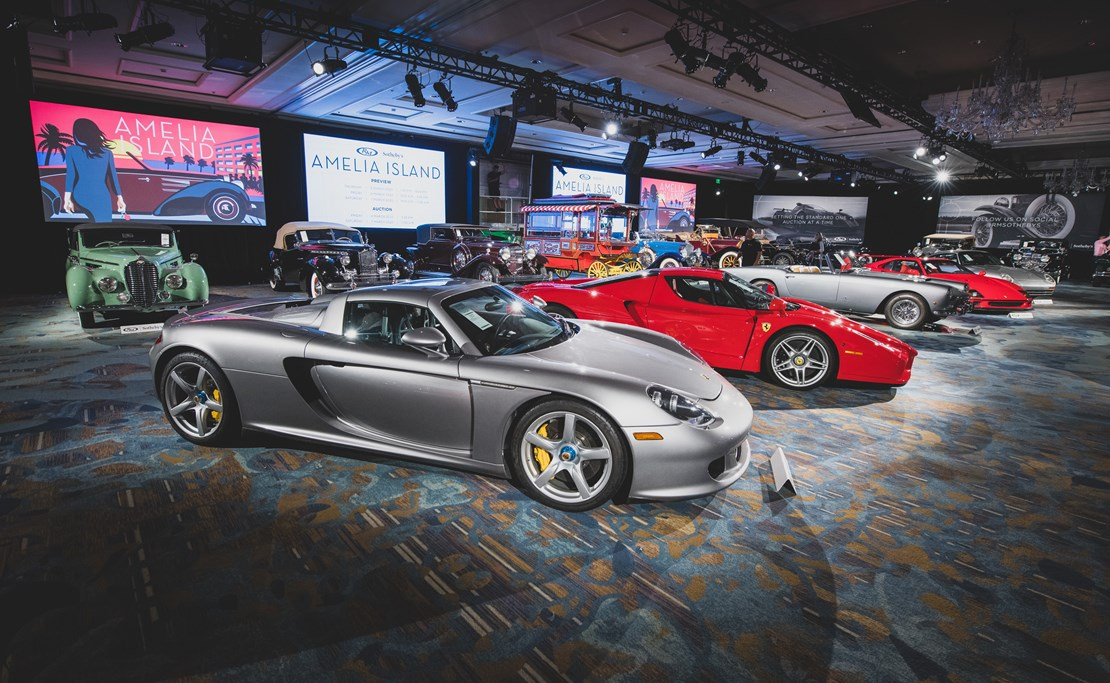 Snapshot of 2020 RM Sothebys Auction, Lease a Classic, Vintage Car Leasing