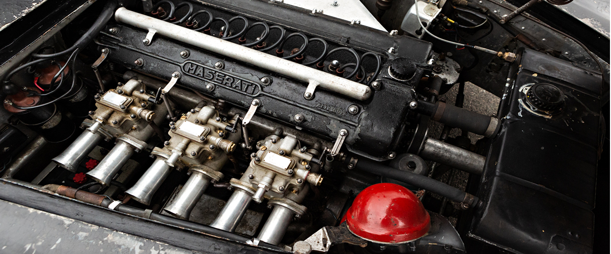 1956 Maserati A6G/54 engine. Vintage Car Financing