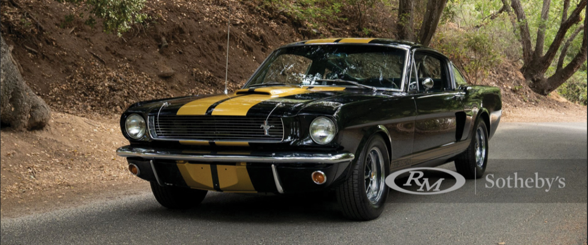 """Lot 209 1966 Shelby Gt350 H """"rent A Racer"""""""