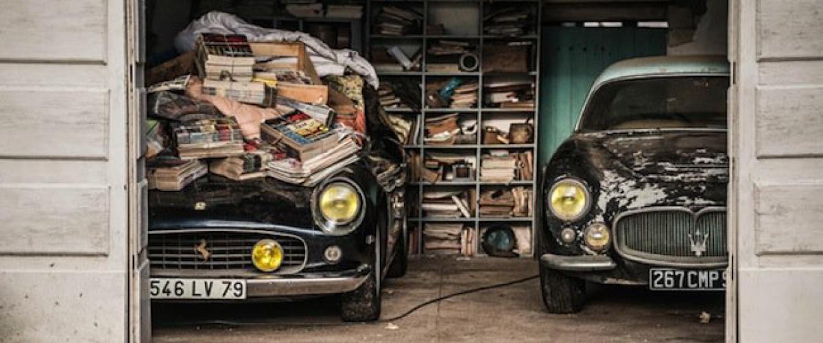 1956 Maserati A6G/54 in garage. Buy a Maserati