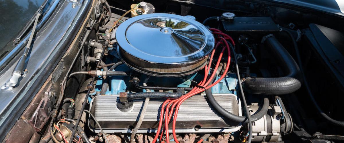 Ac 428 Engine Compartment