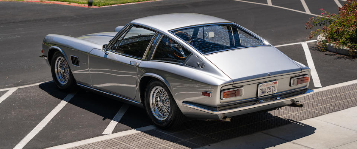 Silver Ac 428 Left Rear View