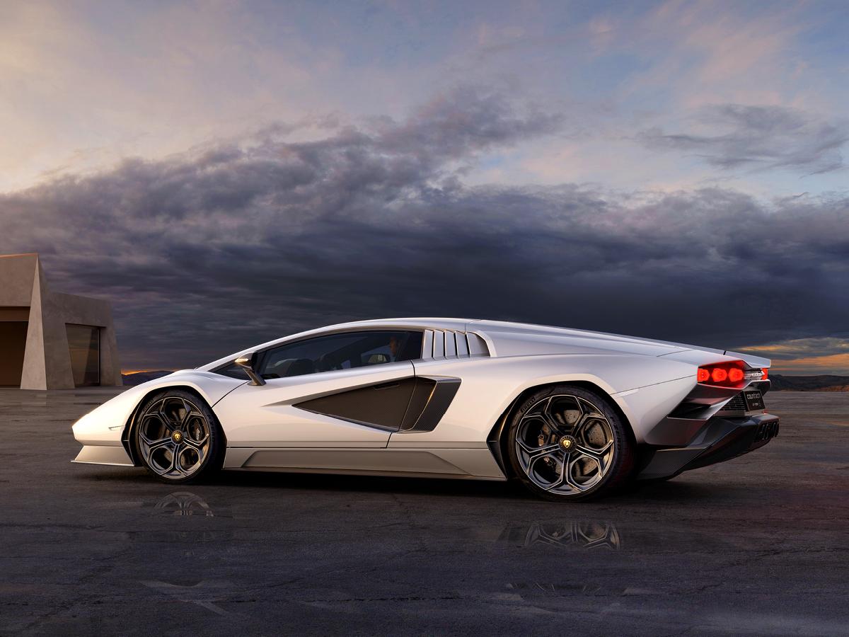 New Lamborghini Countach