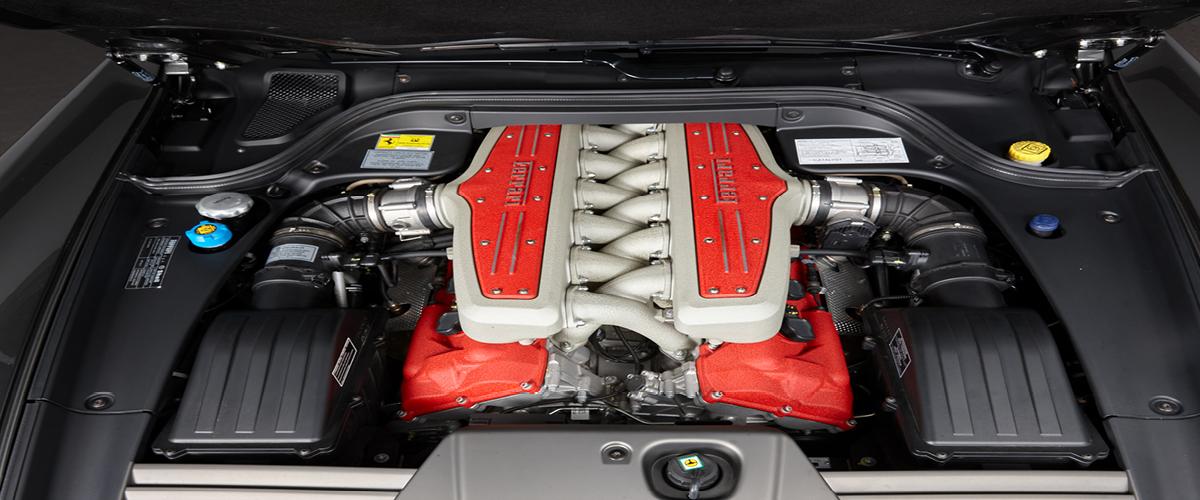 RM Ferrari 599 GTB Engine