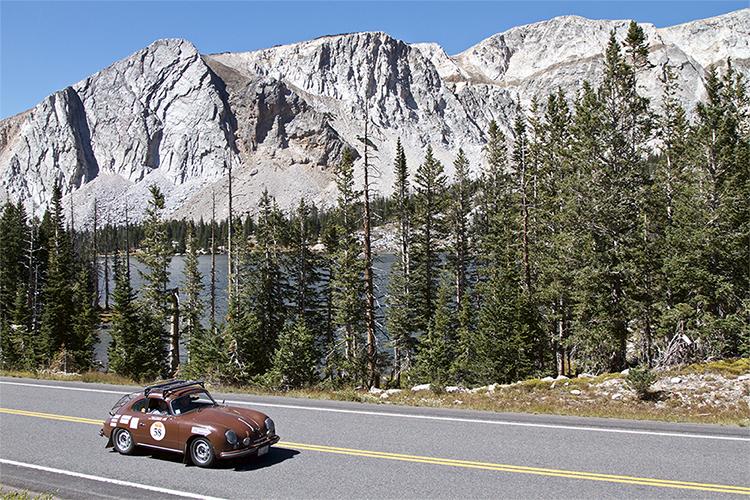 """""""Java"""" the 1956 356A Porsche"""